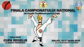 Campionatul National de Karate Traditional pentru Copii – Editia XXV – a