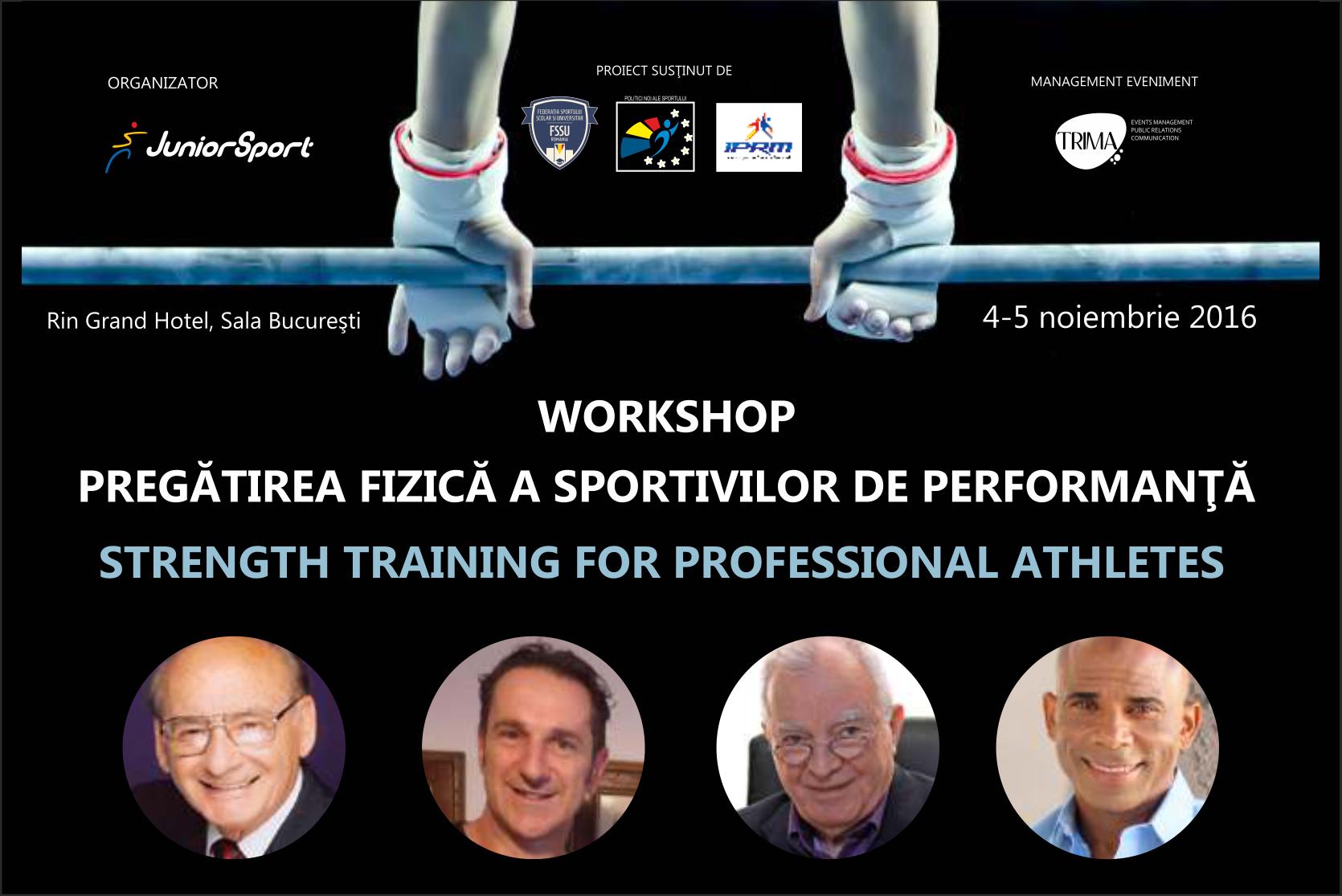 Pregătirea Fizică a Sportivilor De Performanţă
