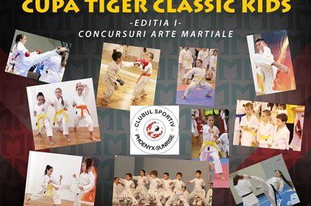 Cupa Tiger Clasic Karate Kids