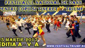 Festivalul De Dans Pentru Copii Si Tineret Triumf