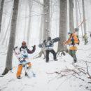 Red Bull Oslea Hiride, Snowboard Si Schi Salbatic