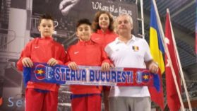 3 medalii aduse de CSA Steaua pentru Romania la cea mai tare competitie europeana de sarituri in apa!