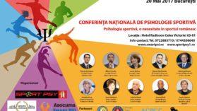 Conferinta Nationala de Psihologie Sportiva