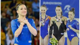 Romani de Aur | Campioana si la ambitie! Care a fost primul gand al Larisei Iordache dupa ce a castigat o medalie la Europeanul de la Cluj