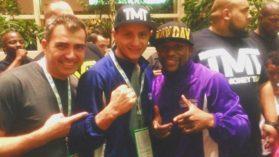 Ronald Gavril e in echipa lui Floyd Mayweather si va lupta azi in Las Vegas!