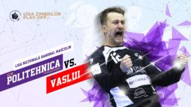 Handbal Masculin: SCM Politehnica Timisoara – HC Vaslui