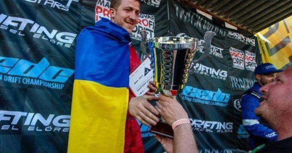 Un roman a luat medalia de argint la cea mai puternica etapa de drift din Europa!