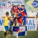 SUPER VIDEO | Romania, campioana mondiala la fotbal sub ochii lui Neymar, dupa ce a invins in finala echipa Angliei