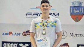 Daniel Martin, argint la Europenele de juniori, in proba de 200m spate
