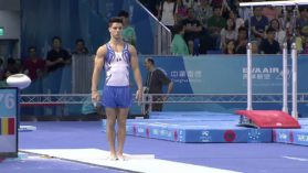 Inca o medalie la Taipei! Andrei Muntean a luat bronzul la sarituri!