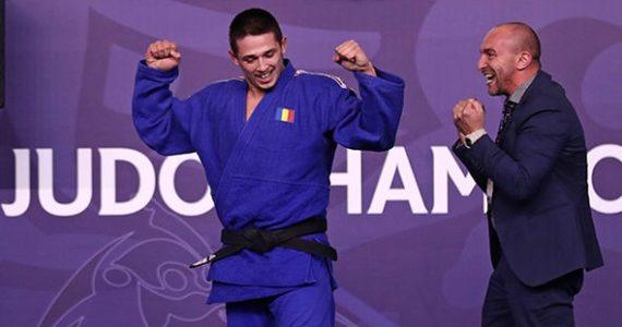 Ce victorie! Eduard Serban este noul campion mondial in Japonia, dupa ce a invins in finala un japonez!