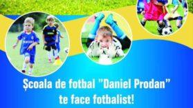 """Scoala de fotbal """"Daniel Prodan"""" începe selecțiile! Un stelist de 6 ori campion al Romaniei, a venit sa il ajute pe fratele lui Didi!"""