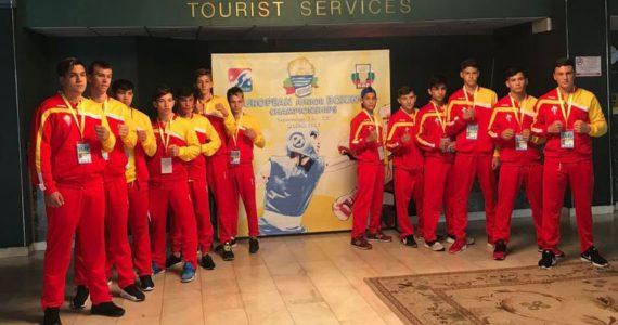 3 medalii pentru Romania la Campionatul European de box!