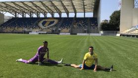 Marian Dragulescu A Jucat Fotbal Alaturi De Lupii Galbeni