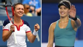 Duel soc la FED Cup: Simona Halep vs Eugenie Bouchard! Canada vine la Bucuresti si reactia Simonei Halep