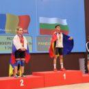 Monica Csengeri a luat trei medalii de aur la Campionatele Europene de Juniori si Tineret, la haltere