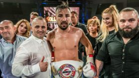 Adrian Mitu a devenit campion intercontinental la gala Golden Fighter de la Craiova!