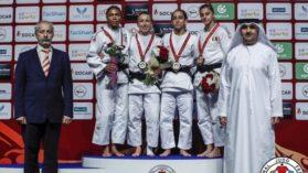 Judo-ul romanesc din nou la inaltime! Larisa Florian in primele 5 judoka ale lumii! Bronz la Abu Dhabi!
