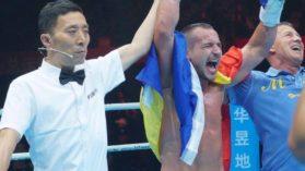 Muncea in fabrica si acum e challenger la titlul mondial in China! Victorii numai prin KO in prima repriza in patria kick-boxului!