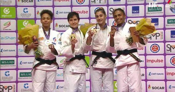 Inca o medalie pentru Larisa Florian la World Judo Masters! Judoka a ajuns la 5 medalii in 2017!