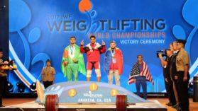Inca o medalie pentru Romania la Campionatul Mondial de haltere!