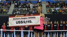 Inca un turneu castigat de Mihaela Buzarnescu! A ajuns la 7 turnee castigate in 2017, dupa titlul de la Dubai!