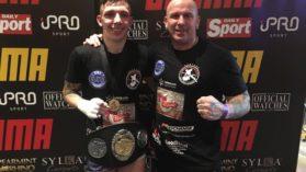 Titlu mondial in MMA pentru fiul lui Catalin Zmarandescu! Juniorul viseaza la UFC!