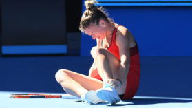 """Simona Halep, dupa victoria categorica cu Bouchard: """"Simt durerea, dar nu ma gandesc la ea!"""""""