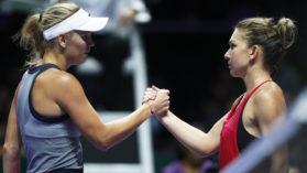 Nu te asteptai la asta! Mesajul lui Wozniacki pentru Simona Halep