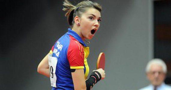 Bernadette Szocs este cea mai buna jucatoare din Europa! Vrea medalie la Tokyo si se antreneaza cu baietii!