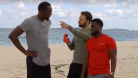 VIDEO | Un roman a arbitrat duelul dintre Bolt si actorul Kevin Hart! Cine a fost mai rapid pe 100 de metri