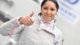 Bianca Pascu este castigatoarea Cupei Romaniei la sabie feminin!