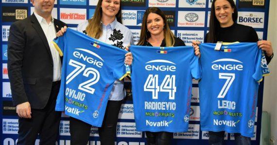 CSM Bucuresti a transferat trei jucatoare de la rivala Vardar Skopje