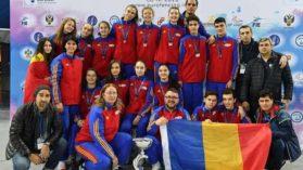 Romania, trei medalii de bronz la Campionatul European pentru cadeti si juniori de la Soci