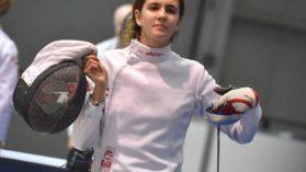 Medalie de argint pentru Alexandra Predescu la Europenele de juniori, in proba de spada
