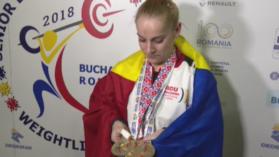 Elena Andries a castigat trei medalii de Aur in prima zi a Europenelor de haltere! Cum arata mainile campioanei