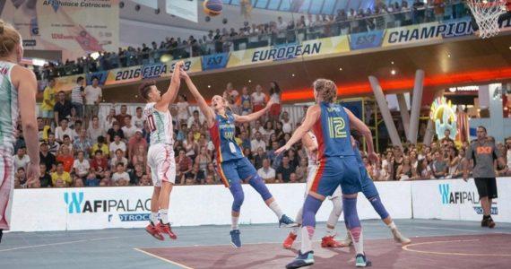 Romania, pentru a treia oara gazda Campionatului European de baschet 3×3