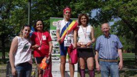 Mariana Nenu a urcat pe podium cu tricolorul pe umeri, dupa ce a alergat 187 km in 24 de ore