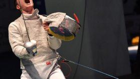 Andrei Pastin a luat aurul la Mondiale, in proba de sabie cadeti masculin. E prima medalie din istorie la probele dedicate cadetilor