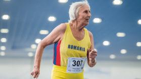 """La 91 de ani a castigat o medalie de aur pentru Romania! """"M-am straduit ca sa mai aduc o medalie pentru tara noastra!"""""""