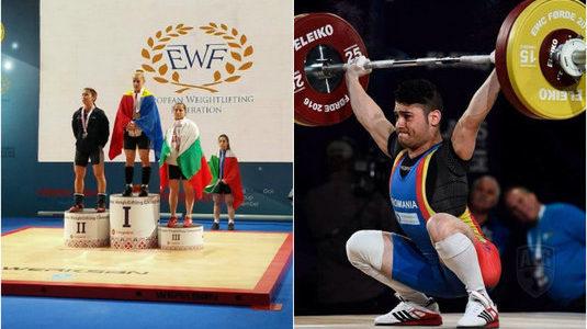 Romania a castigat 26 de medalii la Campionatul European de Haltere!