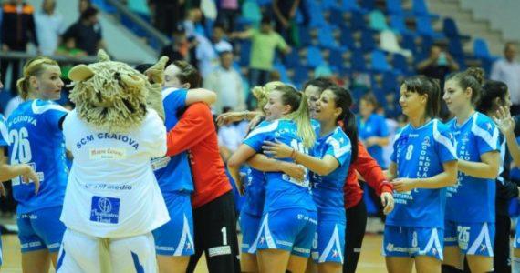 SCM Craiova la un pas de finala Cupei EHF!