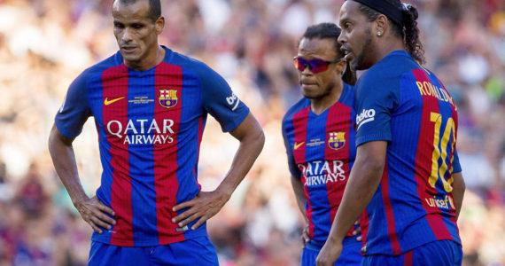 Legendele Barcelonei vin in Romania pentru un meci cu Generatia de Aur! Cand si unde va avea loc