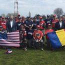 "Selectionata de baseball a Romaniei a invins echipa de militari a SUA la trofeul ""Jackie Robinson"""