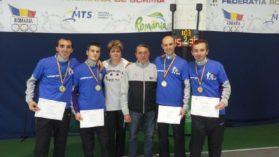 Poli Timisoara, campioana nationala la floreta masculin pe echipe