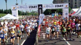17 000 de sportivi in weekend la Semimaratonul Bucuresti