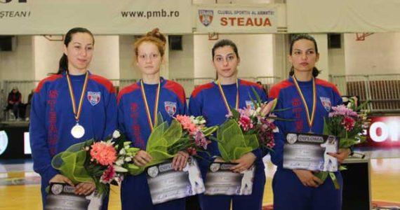 Steaua Bucuresti a obtinut argintul la la Cupa Europei, floreta feminin