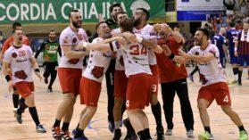 Dinamo, al treilea titlu consecutiv la handbal masculin