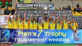 Romania a promovat in Grand Prix Series la rugby in VII dupa ce a castigat etapa din Lituania