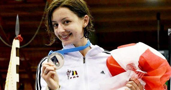 Ana-Maria Popescu, argint la Campionatul Mondial de la Wuxi, proba spada